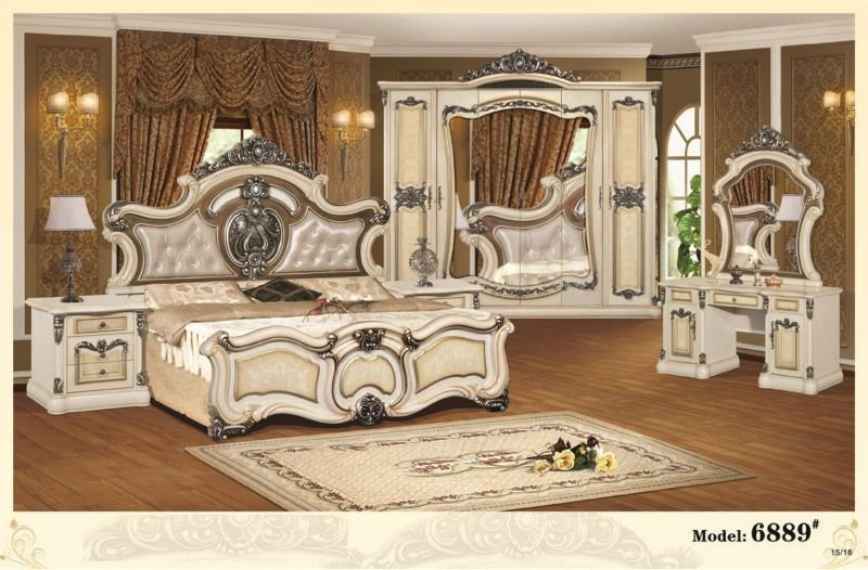 Best New Design European Style Bedroom Furniture Bedroom Furniture Set With Discount Price On Sale With Pictures