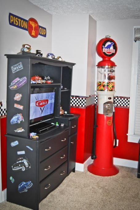 Best Race Car Bedroom Decorating Ideas Disney Cars Bedroom With Pictures