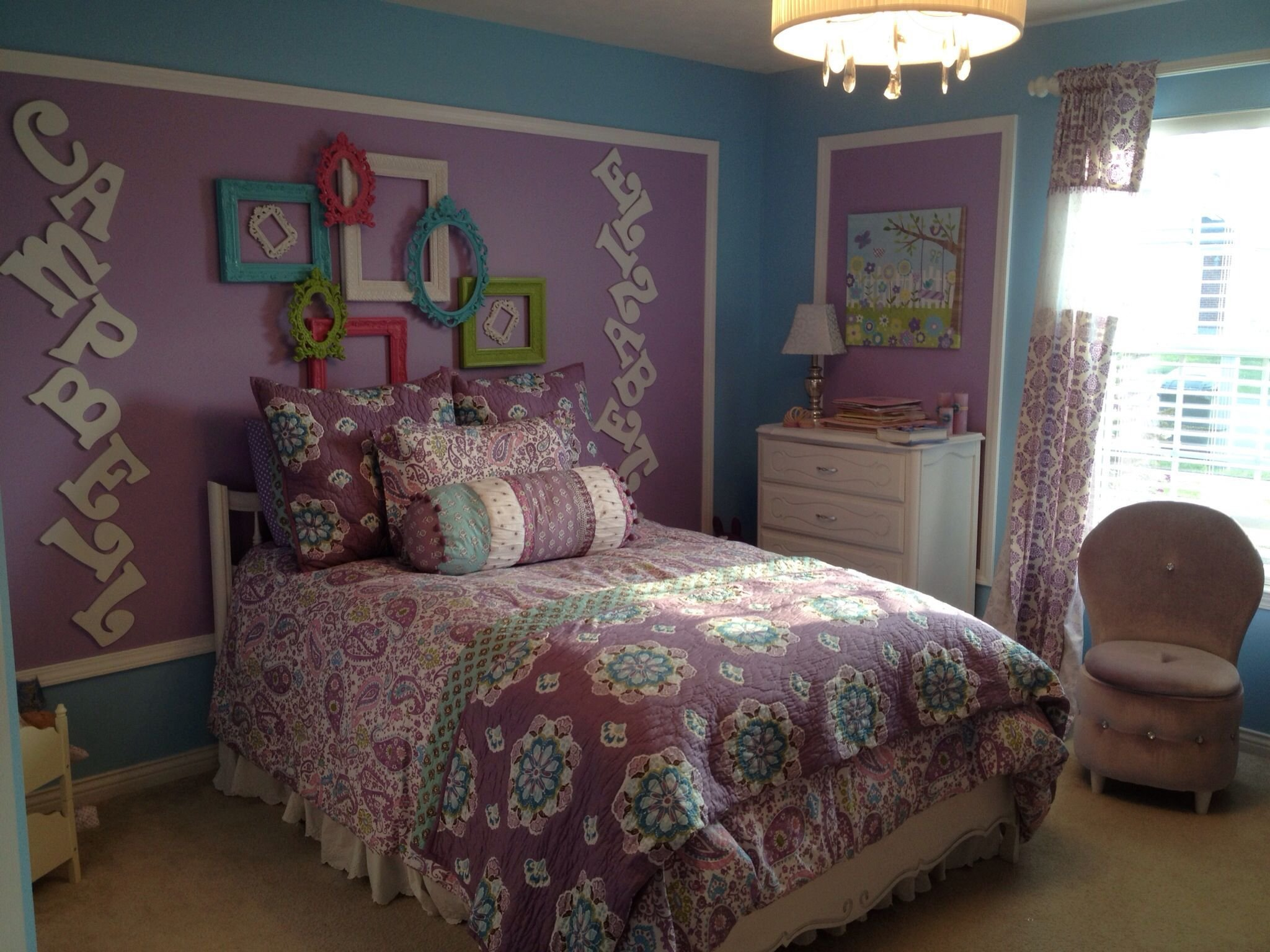 Best Pottery Barn Kids Bedding In 4 Year Old Girls Room So Fun For The Home Little Girl With Pictures
