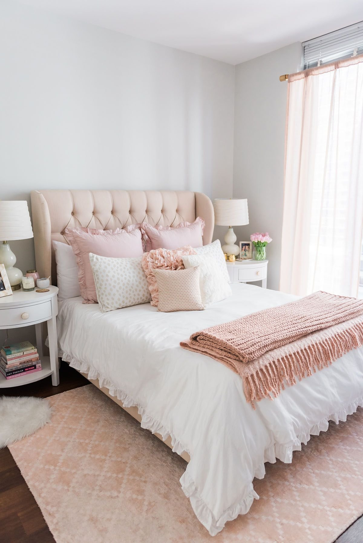 Best My Chicago Bedroom Parisian Chic Blush Pink Living With Pictures