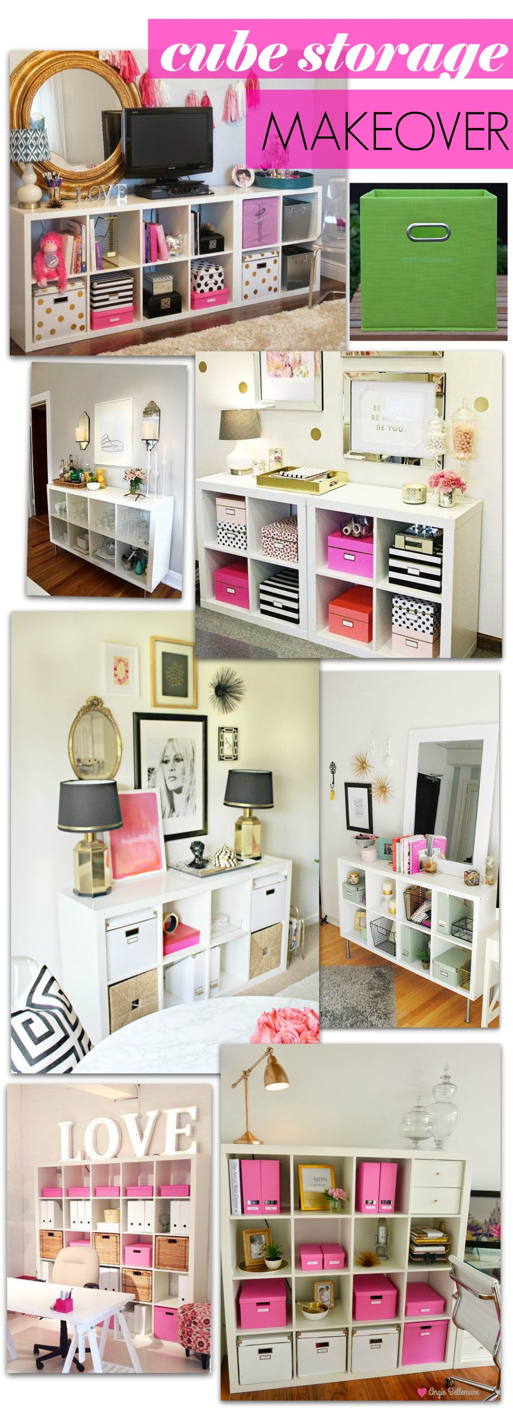 Best Diy Cube Storage Makeover Inspo Project Living Room With Pictures