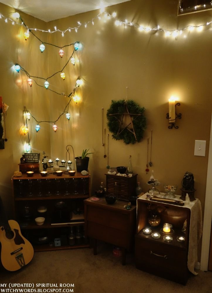 Best Witchy Words My Updated Spiritual Room Part 1 Of 5 The Corner Of Air Pagan Wicca Altars With Pictures