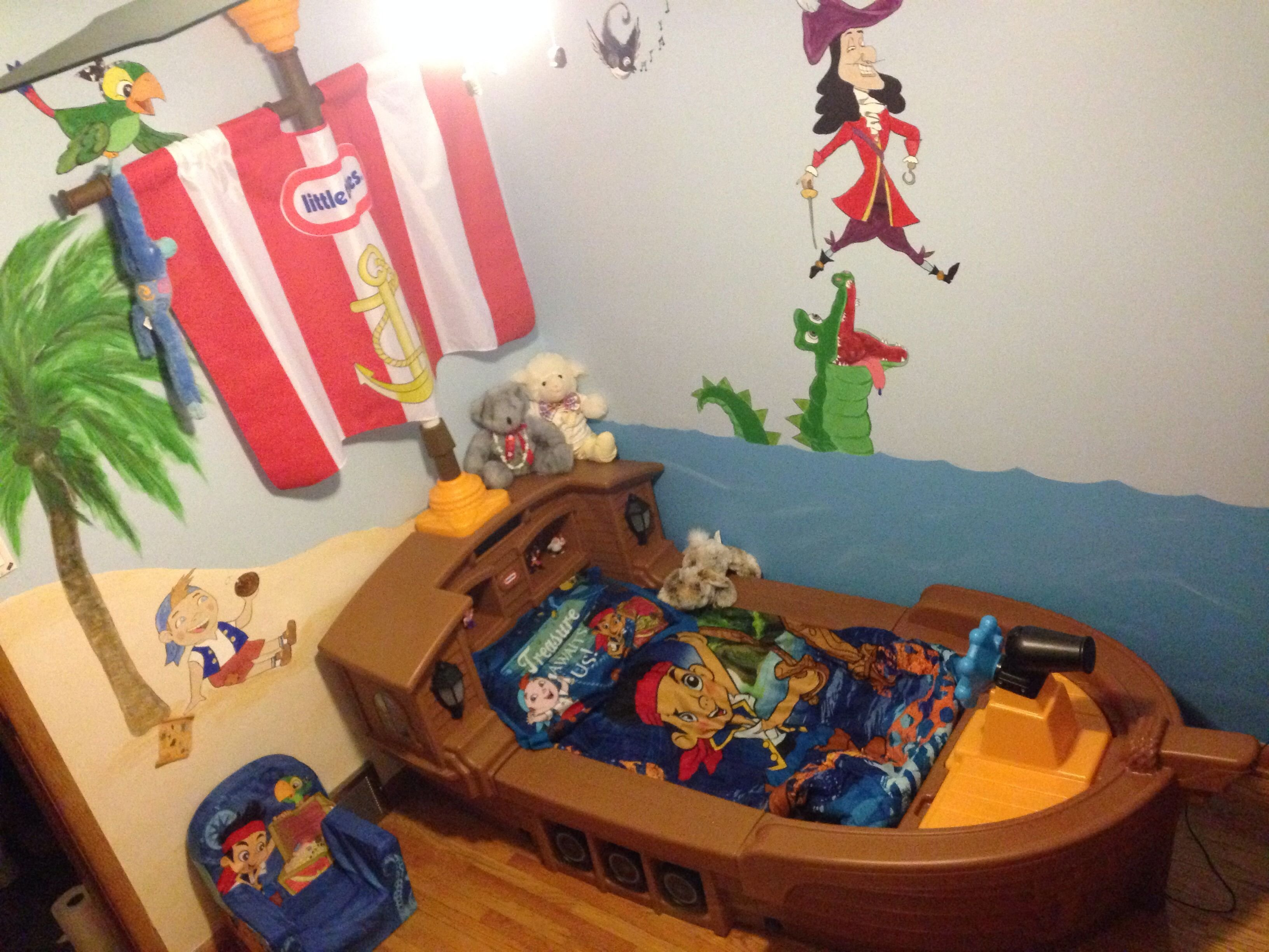 Best Jake And The Never Land Pirates Pirate Room Pirate With Pictures