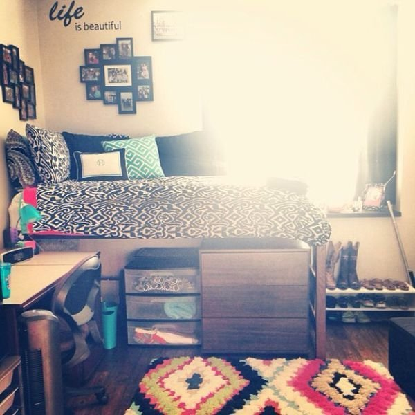 Best 15 Cool College Bedroom Ideas Home Décor College Room With Pictures