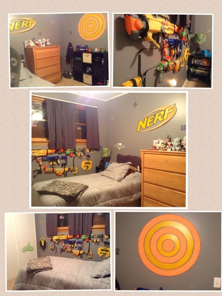 Best Cool Nerf Room Cool Ideas Kids Bedroom Bedroom Themes With Pictures