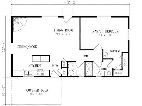Best Floor Plan For 20 X 40 1 Bedroom Google Search House With Pictures
