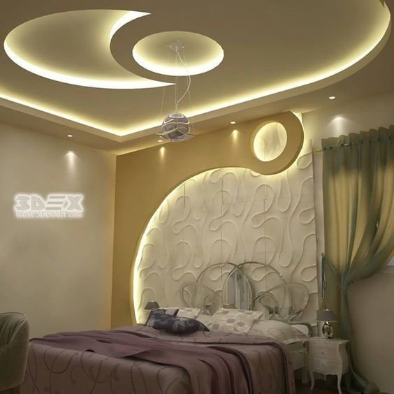 Best Modern Gypsum Board Design For False Ceiling And Wall For With Pictures