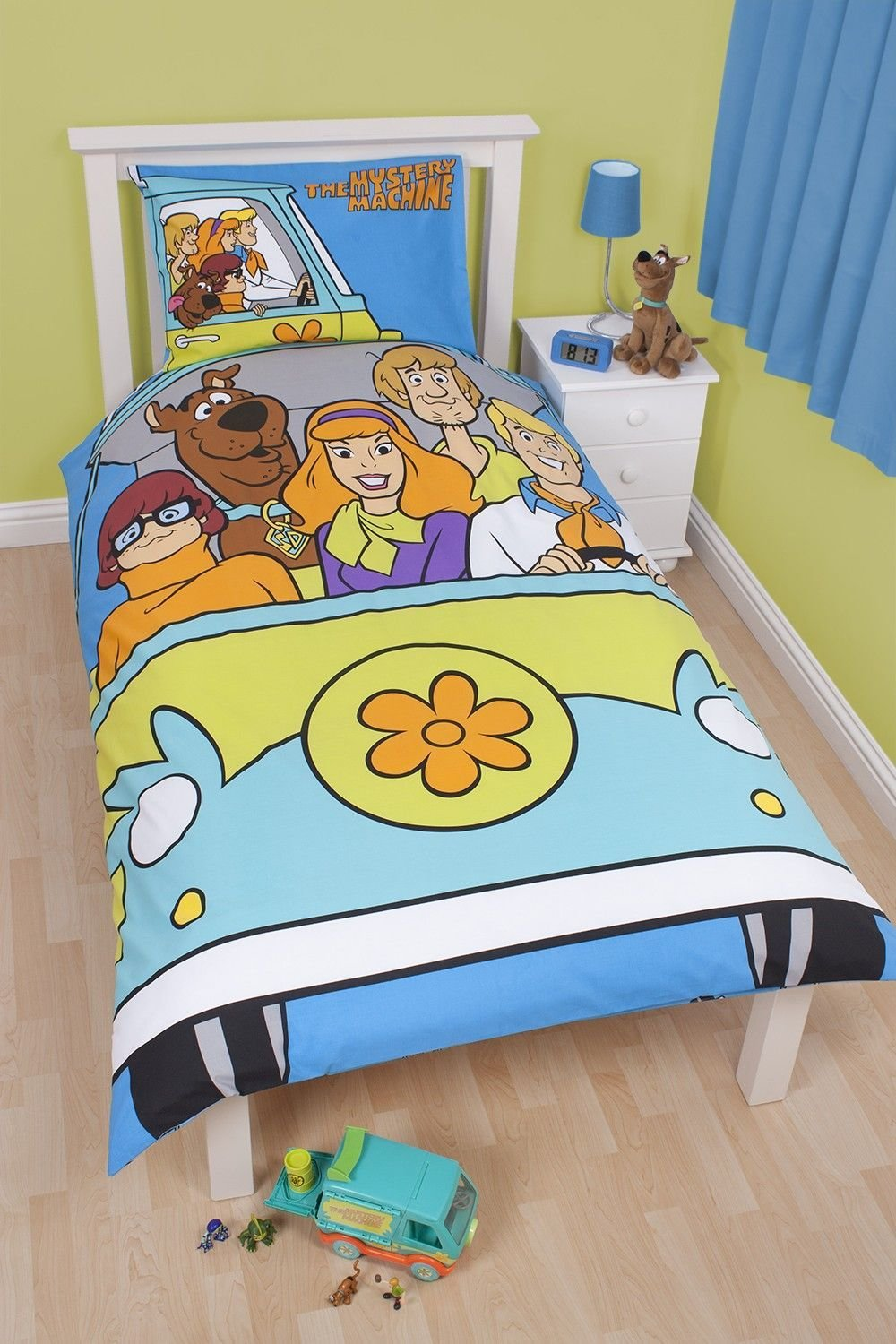 Best Scooby Doo Scooby Doo Bedding Mystery Reversible Single Bed Duvet Cover And Toon Geek With Pictures