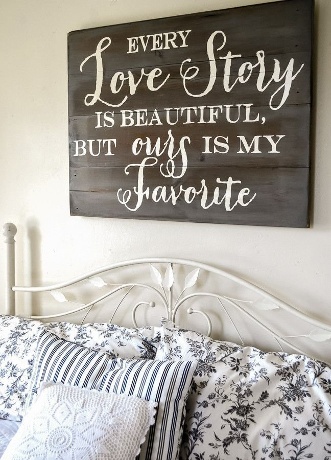 Best Love Story Sign Bedroom Ideas Home Decor Bedroom Decor Wood Signs With Pictures