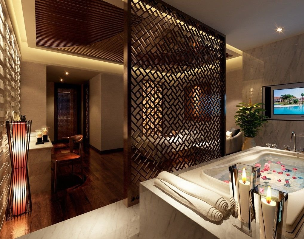 Best Bathroom Master Bedroom Master Bedroom Bathroom Partition Sketch Bedroom Study Room And With Pictures