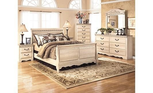 Best Silverglade Sleigh Bedroom Set Furniture Sleigh With Pictures