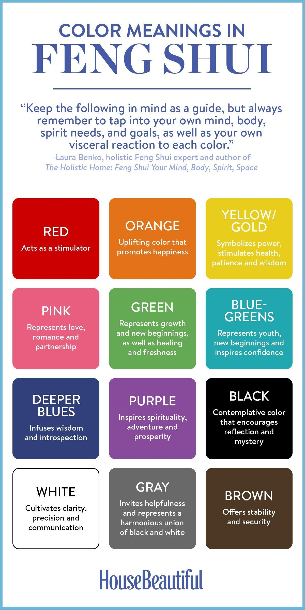 Best How To Choose The Perfect Color — The Feng Shui Way With Pictures