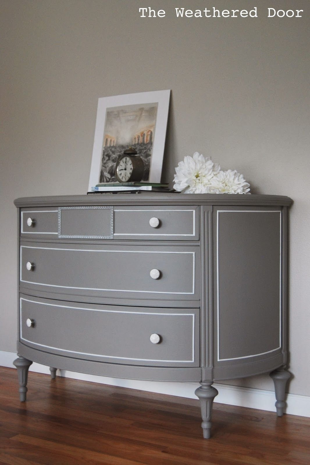 Best The Weathered Door Dresser After Furniture Rehab Grey With Pictures