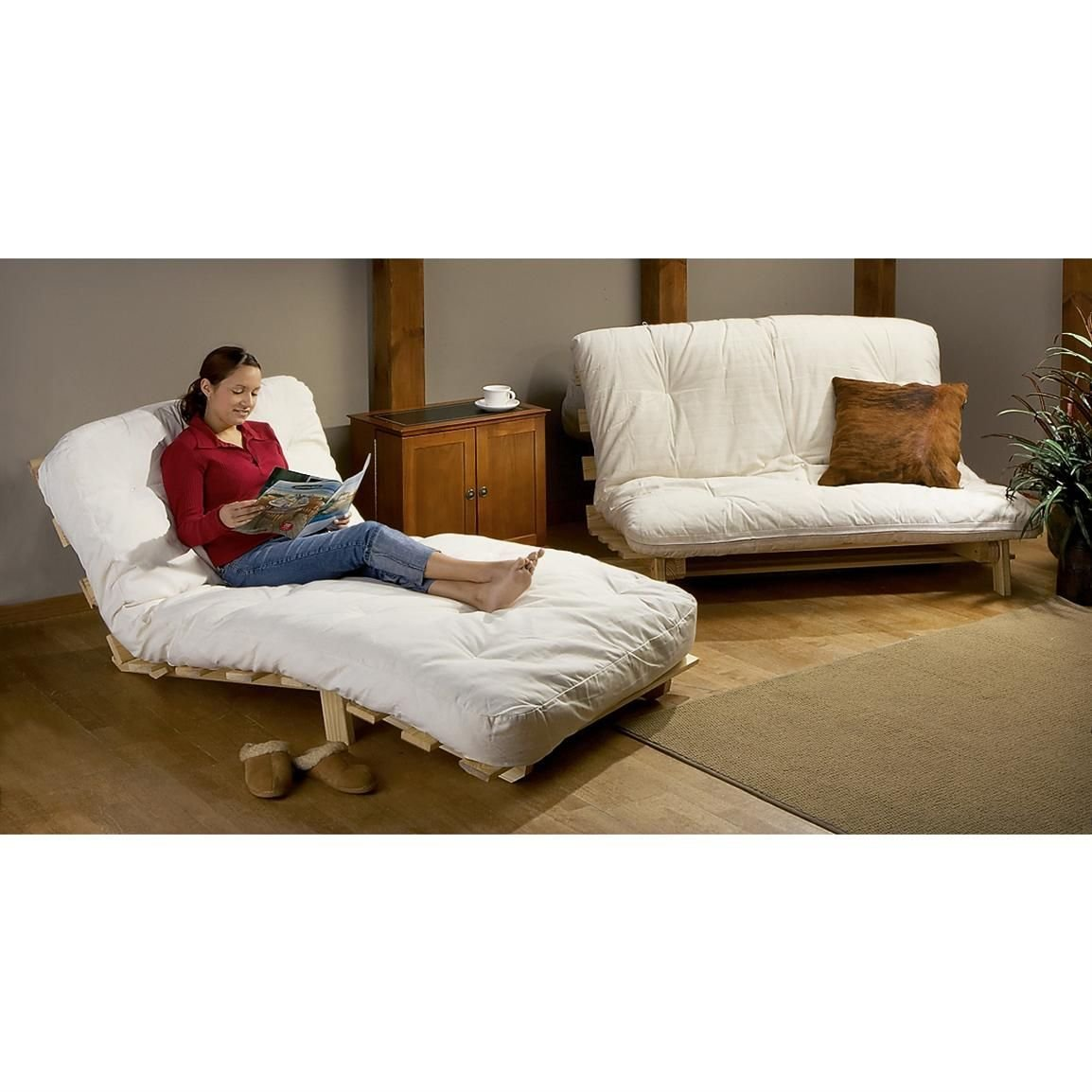 Best Twin Ultra Light Futon Bed 203856 Living Room With Pictures