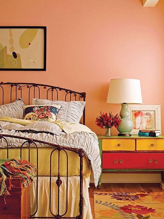 Best Vintage Bedroom Ideas Bedroom Ideas Bedroom Orange With Pictures