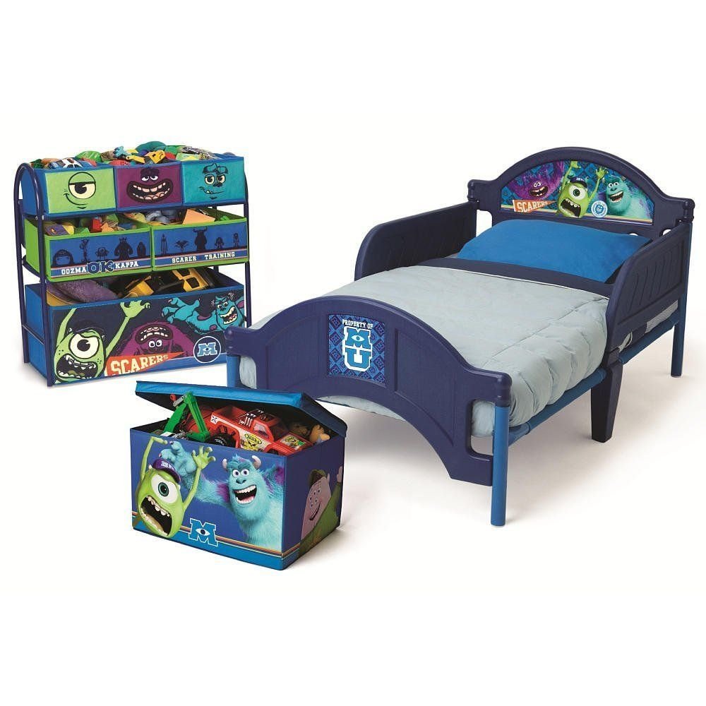 Best Disney Pixar Monsters University 3 Piece Room In A Box With Pictures