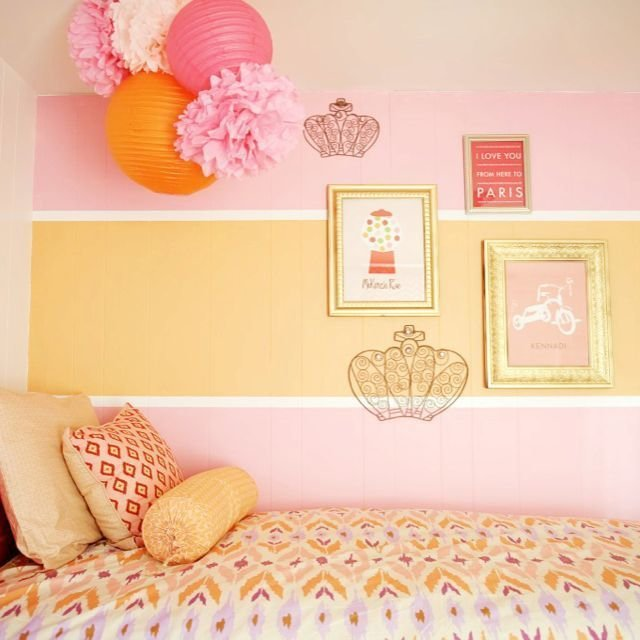 Best Image Result For Paint Girls Bedroom Yellow And Pink With Pictures