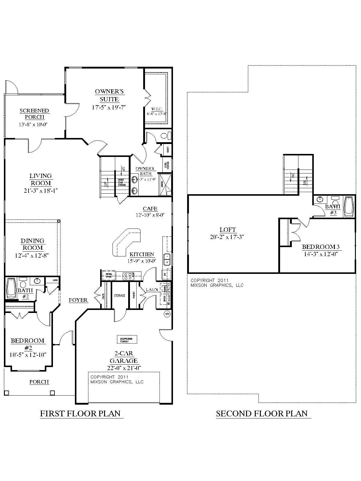 Best House Plan 2755 Woodbridge Floor Plan Traditional 1 1 2 With Pictures