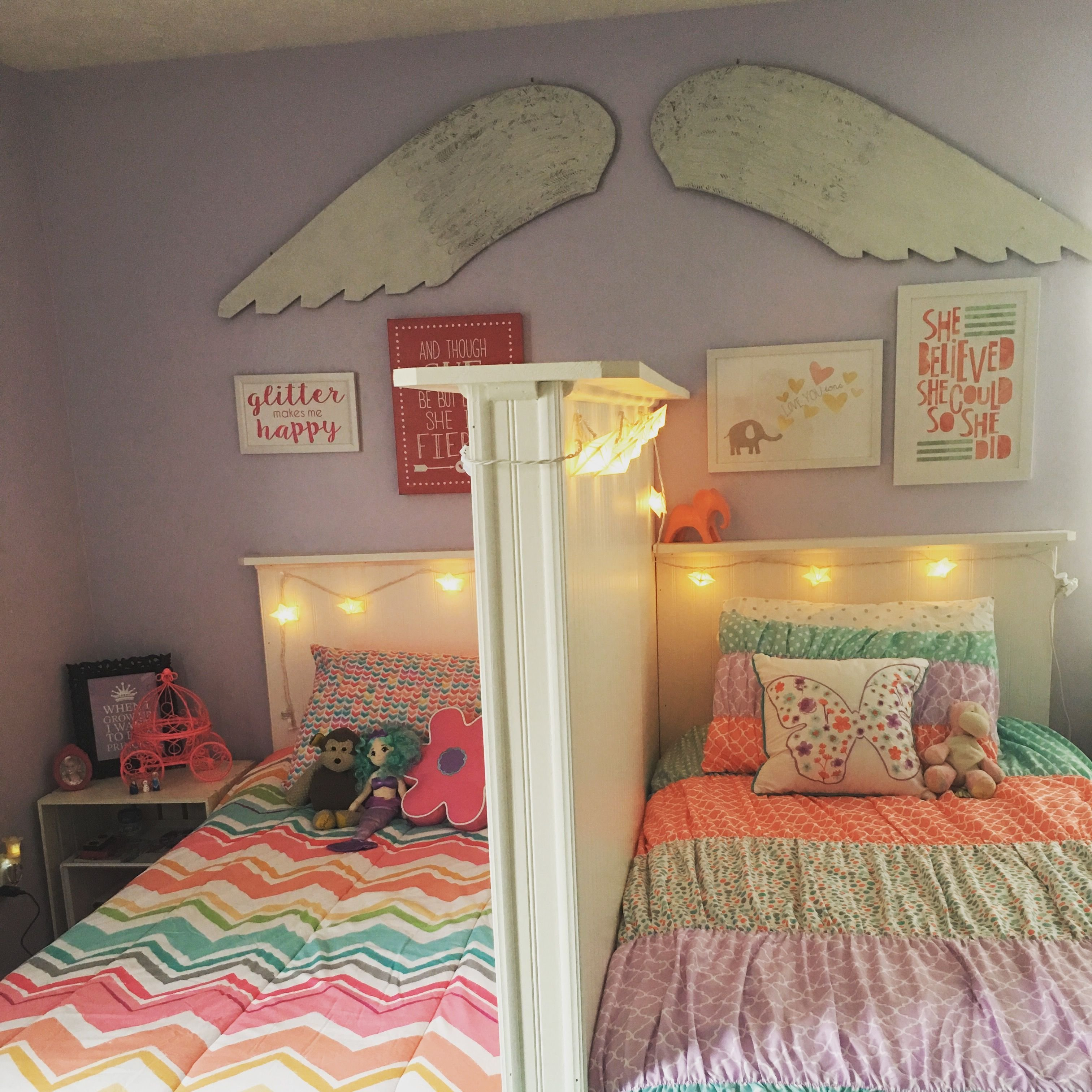 Best Shared Little Girls Bedroom Love It Because Each Of Them With Pictures