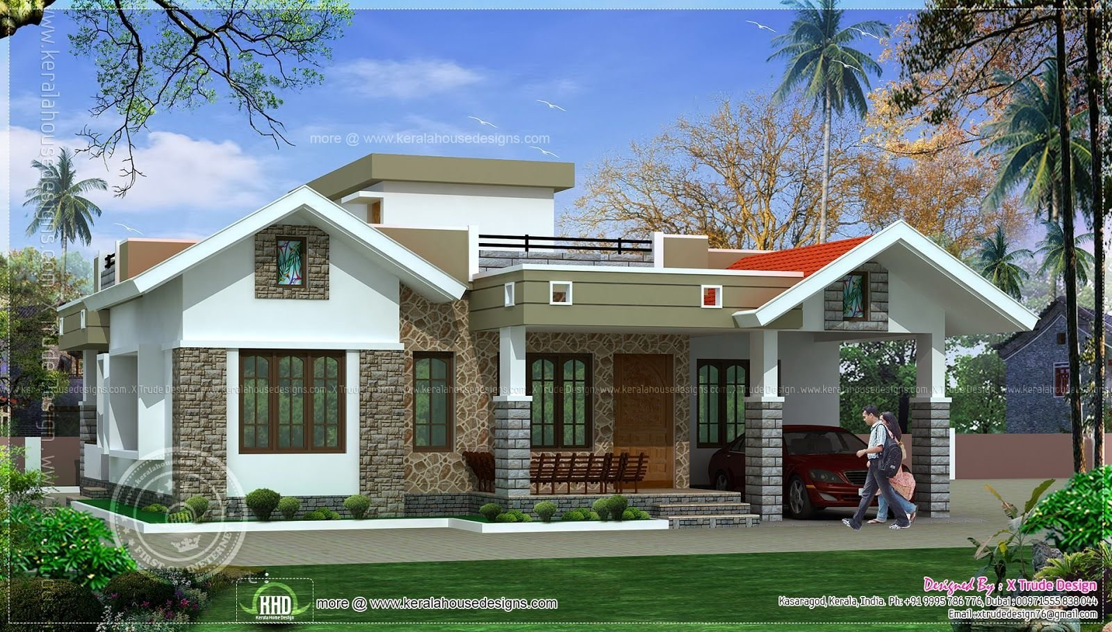 Best Bedroom Floor Kerala Style Home Design Indian House Plans With Pictures
