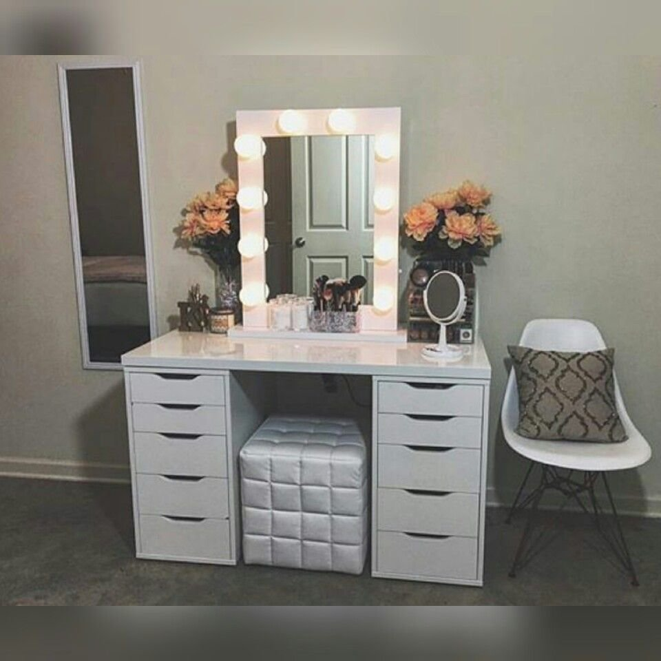Best Diy Vanity Mirror With Lights For Bathroom And Makeup With Pictures