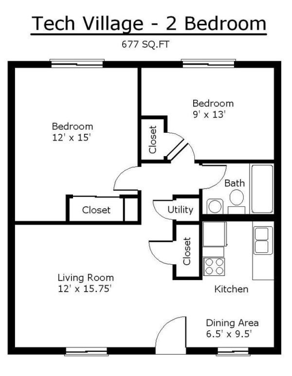 Best Tiny House Single Floor Plans 2 Bedrooms Apartment Floor With Pictures