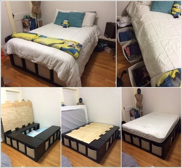 Best 15 Clever Storage Ideas For A Small Bedroom Favorite With Pictures