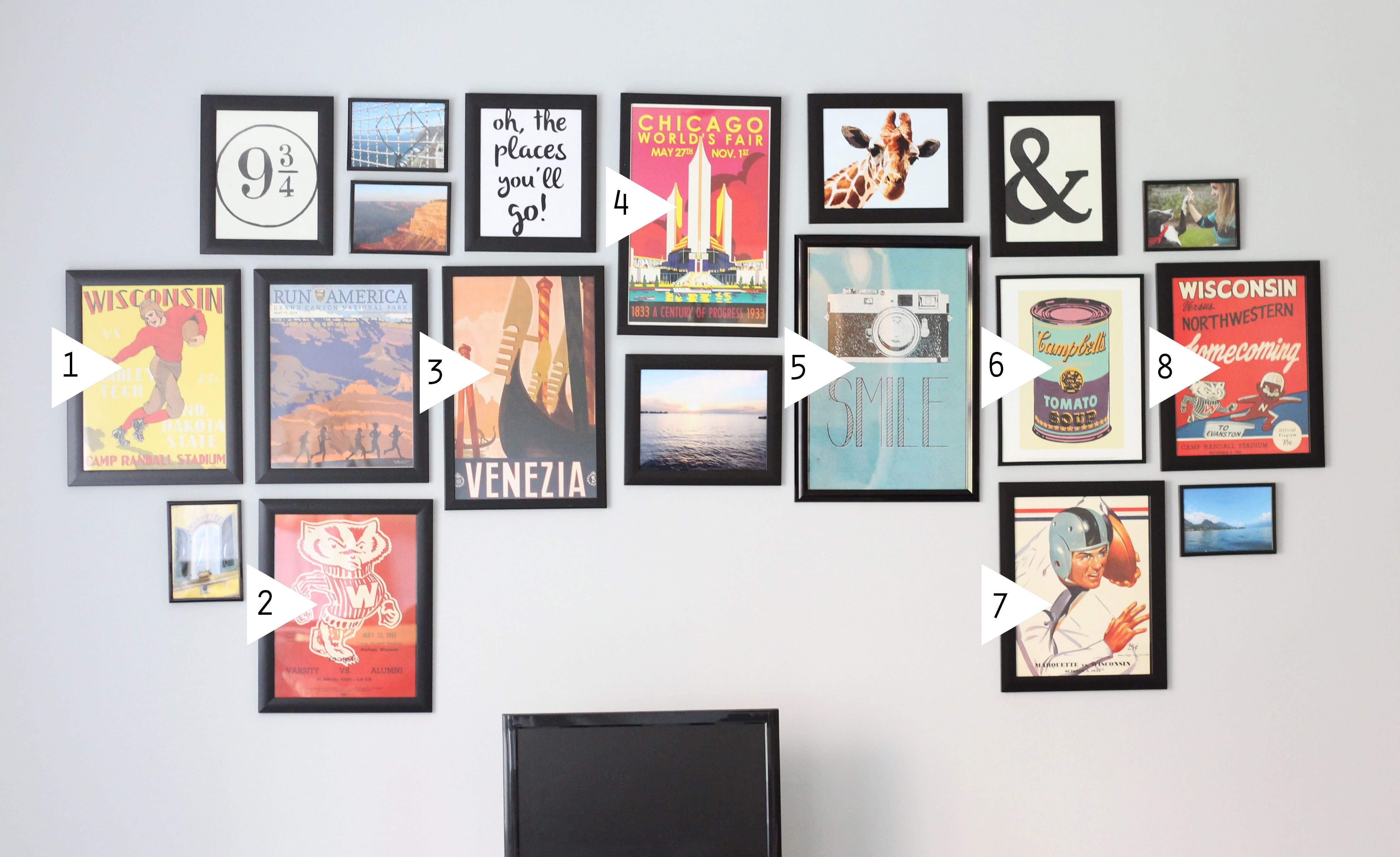 Best Design Evolving Gallery Wall Tutorial Archives Design Evolving Stuff To Buy Gallery Wall With Pictures