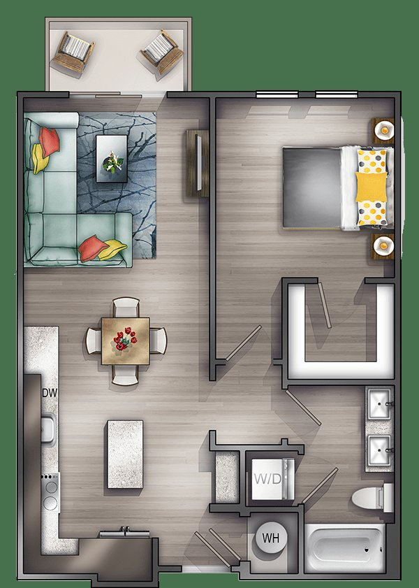 Best Studio Apartments Nashville Peyton Stakes Luxury With Pictures