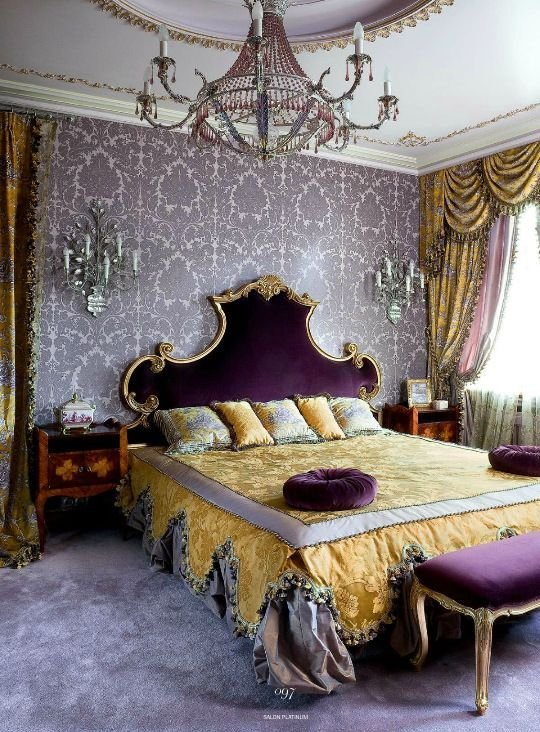Best I So Have This Thing For Wallpaper Baroque Style Bedroom With Pictures