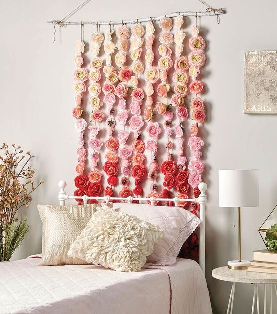 Best How To Make A Rose Garland Diy Home Decor Diy Home With Pictures