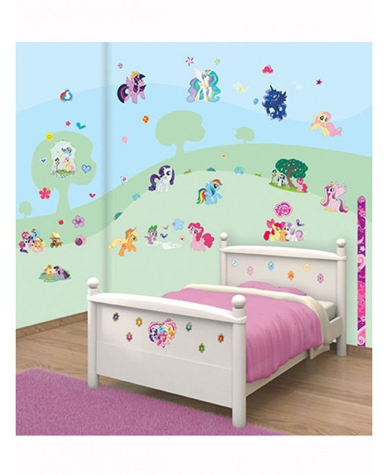 Best Walltastic My Little Pony Room Decor Wall Sticker Kit With Pictures