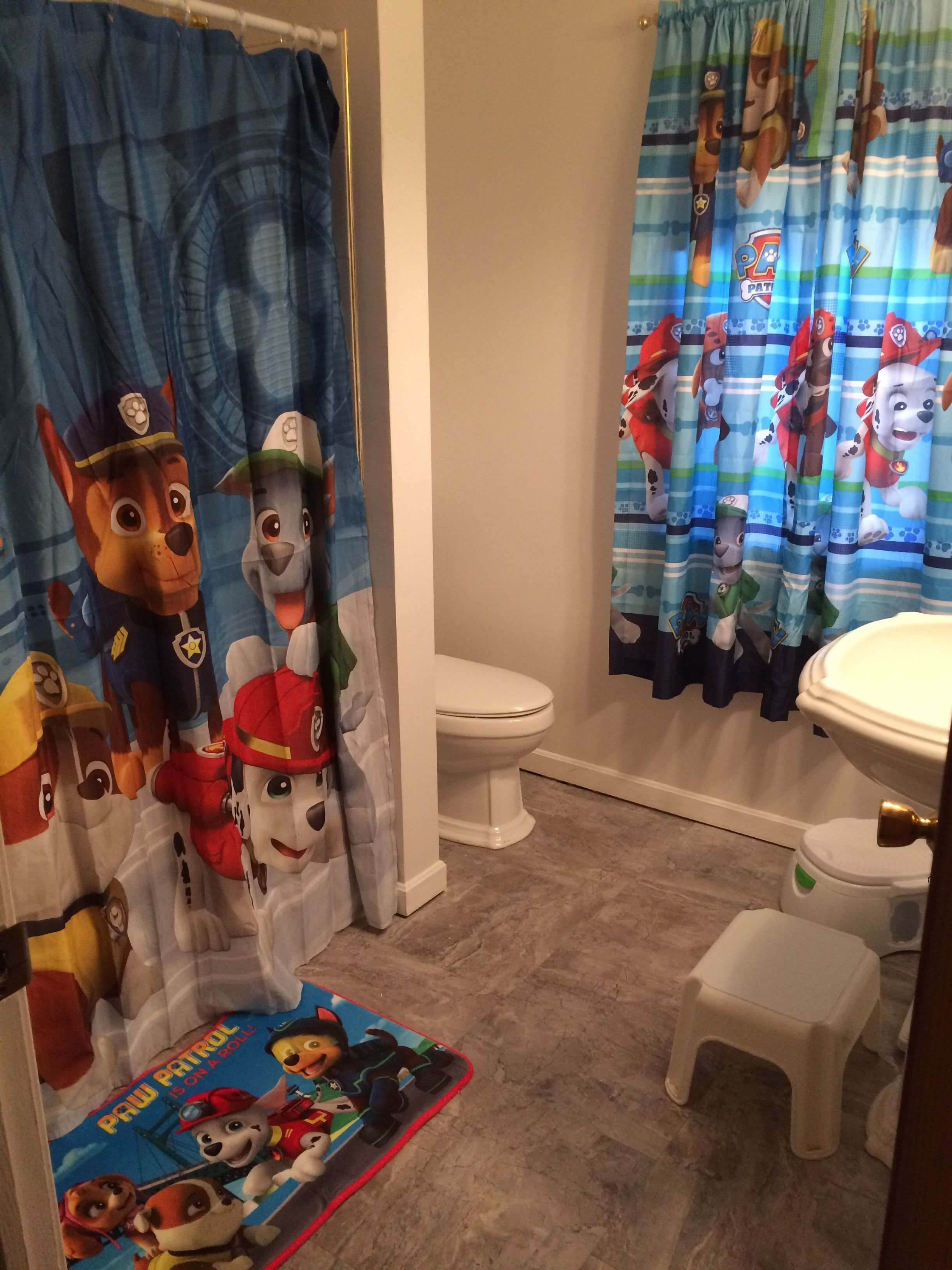 Best Paw Patrol Bathroom Decor Decor Purchased At Walmart Com With Pictures