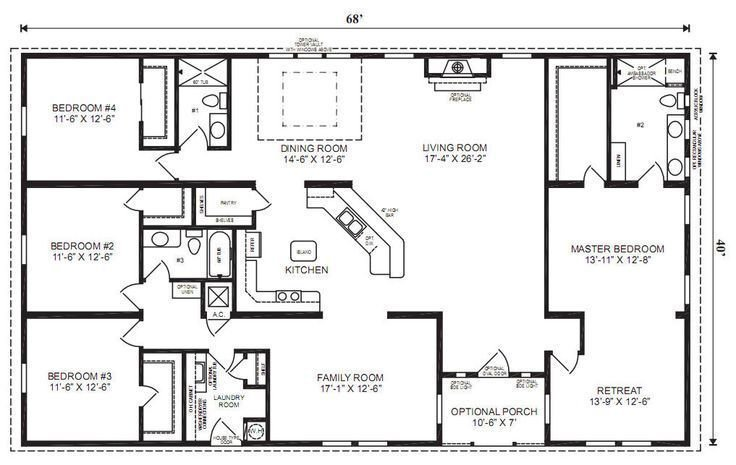 Best My New Pole Barn Kit In 2019 Home Modular Home Floor Plans 4 Bedroom House Plans Basement With Pictures