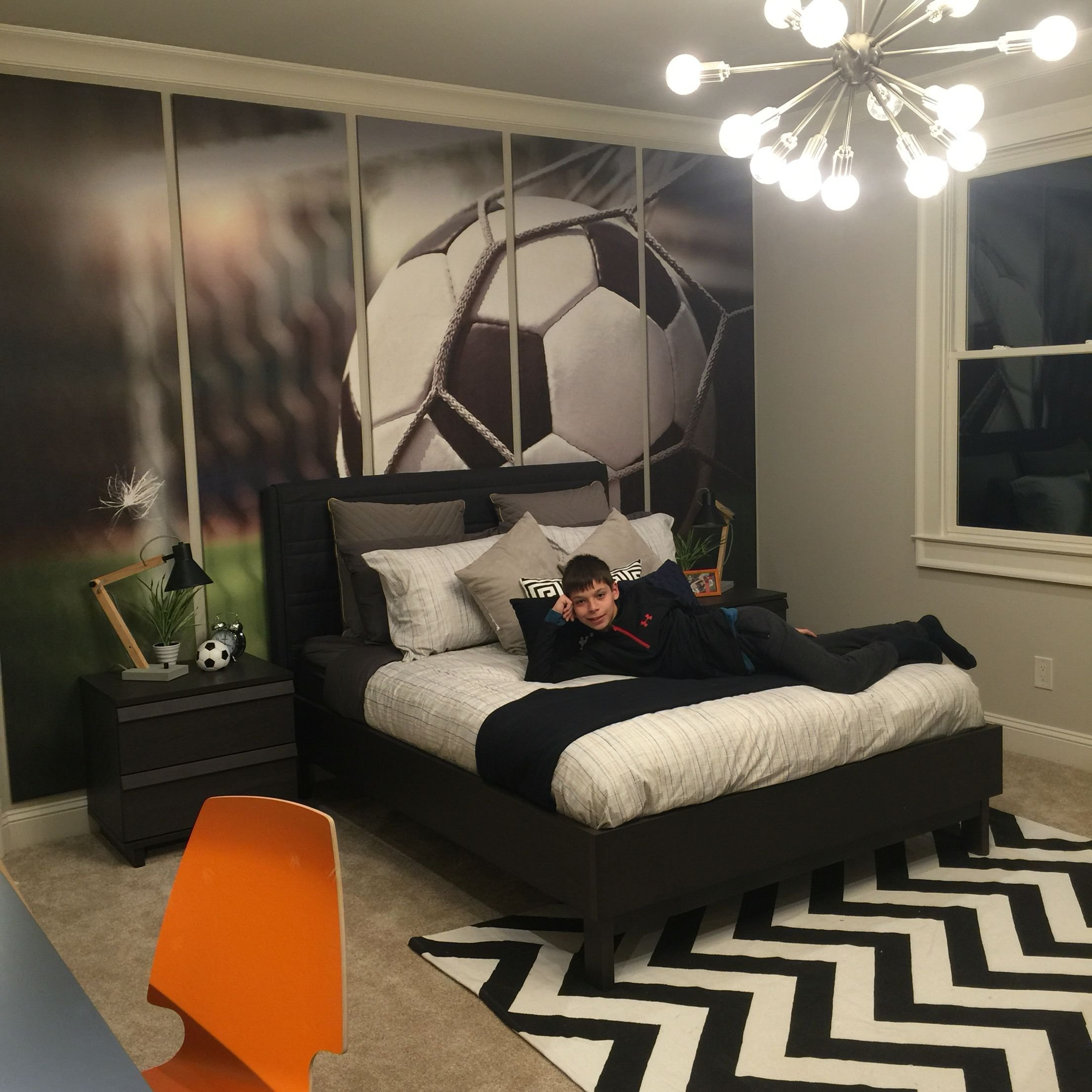 Best Pre T**N Boy Soccer Enthusiast Bedroom Preteenbedroom With Pictures