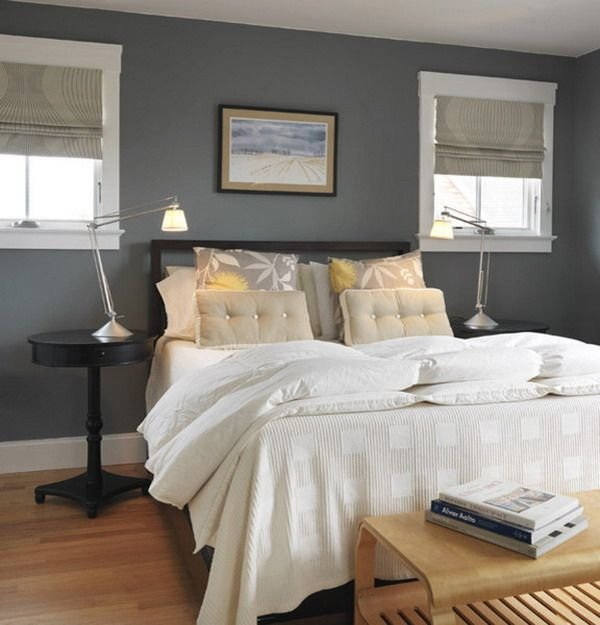 Best Beautiful Bedrooms 15 Shades Of Gray Simple Bedroom Decor Gray Bedroom Walls Grey Bedroom With Pictures