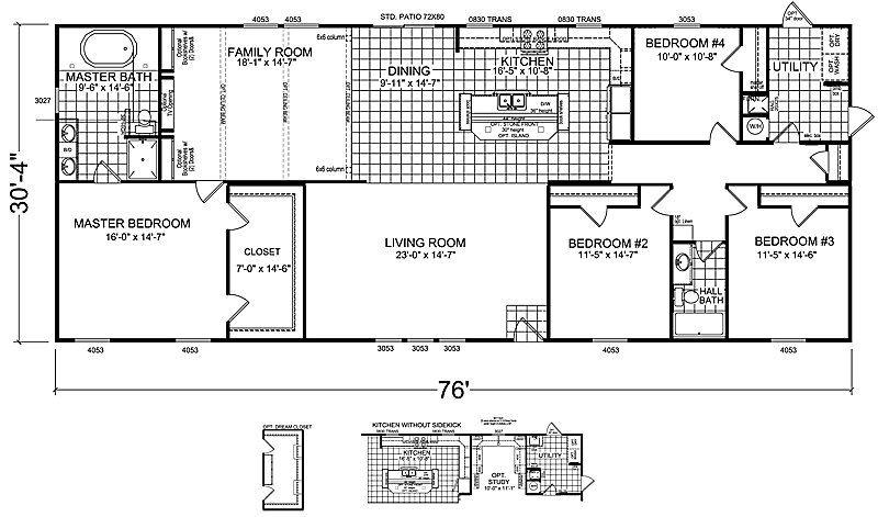 Best 4 Bedrooms 3 Bathrooms Mobile Home Bedroom Double Wide With Pictures