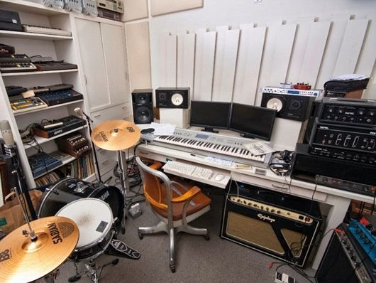 Best Moby S Home Recording Studio Home Recording Studio With Pictures