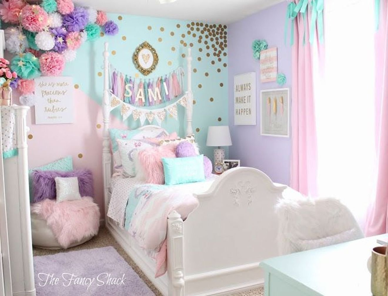 Best 40 Cute Unicorn Bedroom Design 20 New Bed Room Pastel With Pictures