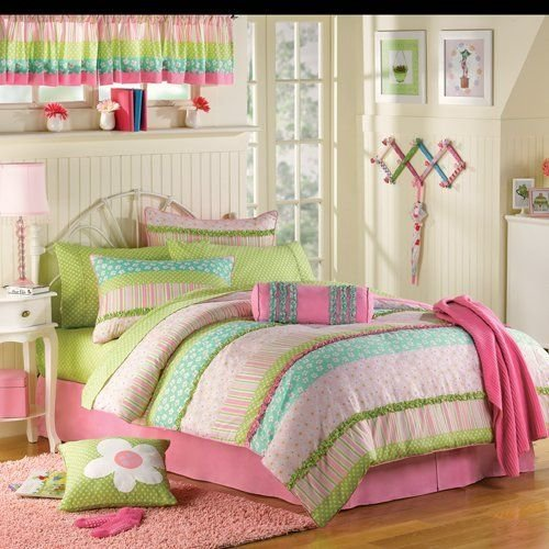 Best Pink Green Purple Comforter Black Pink Green Purple With Pictures