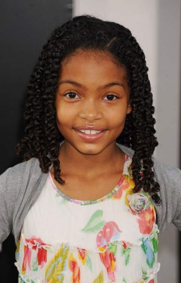 Free Hairstyles 2014 For Little Girls African American Braid Wallpaper