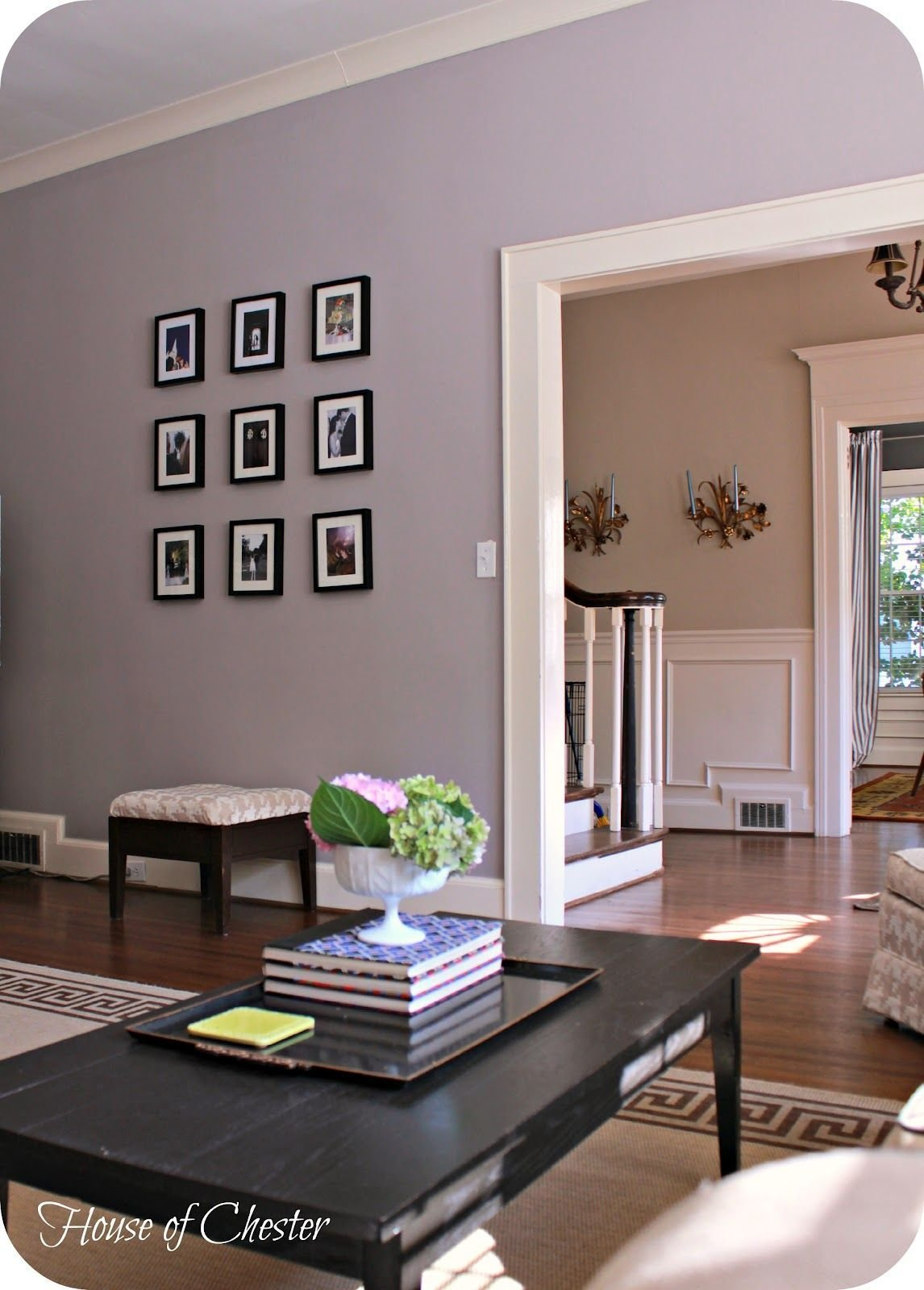 Best Image Result For Purple Grey Wall Paint Home Ideas With Pictures
