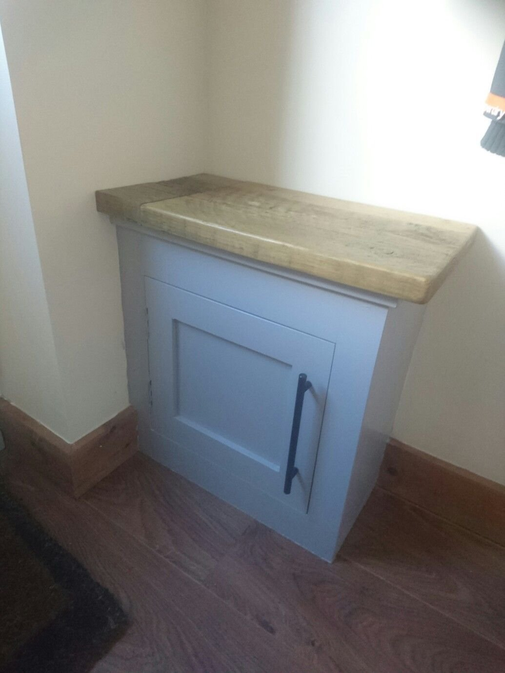 Best Small Cupboard That Covers A Gas Meter Finished Basement With Pictures