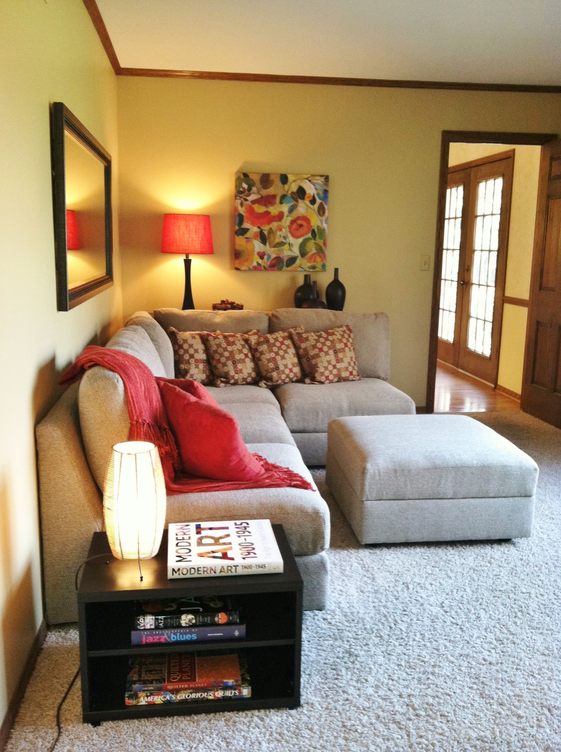 Best Sectional Perfectly Sized For A Small Den Project With Pictures
