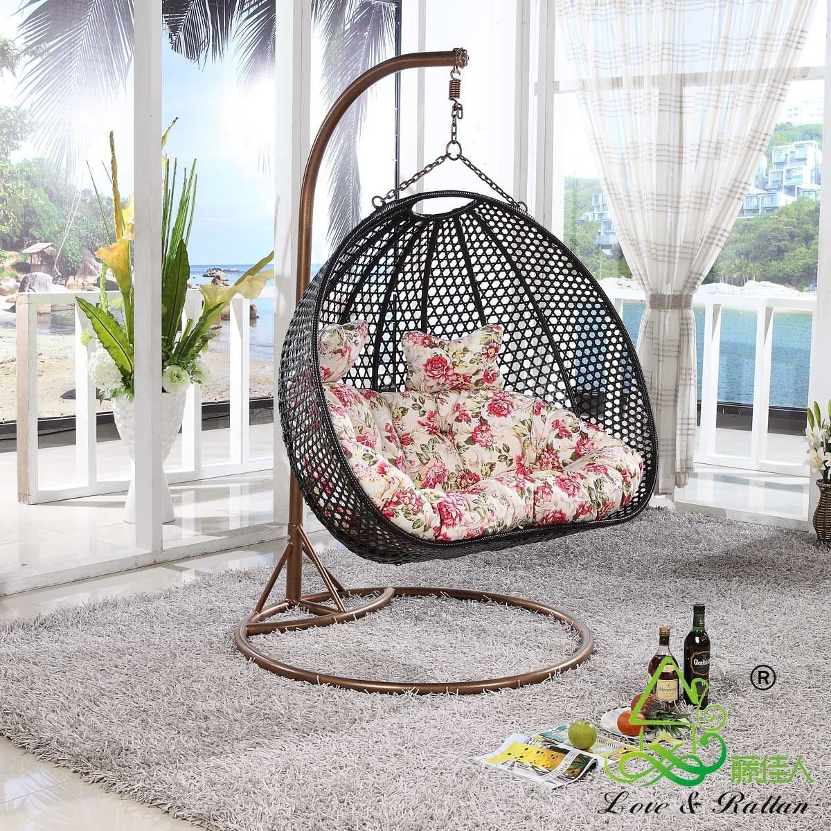 Best Furniture Rattan Chair Outdoor Swing Hanging Basket With Pictures