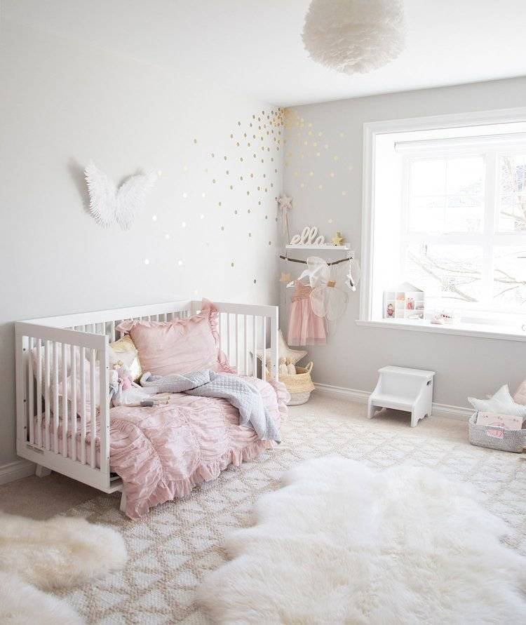 Best Pink And Grey Toddler Girl Bedroom Ri Place For Kids Toddler Rooms Kids Room Design With Pictures