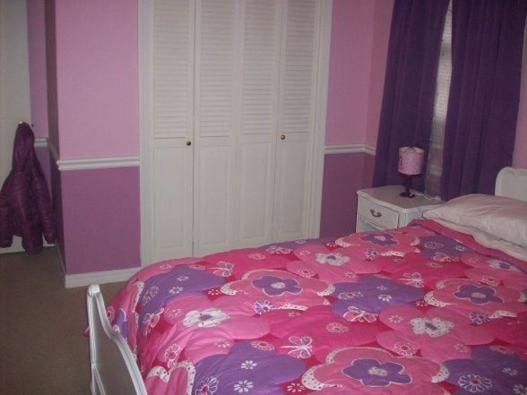 Best Pink And Purple Girls Room Love The Two Tones On The With Pictures