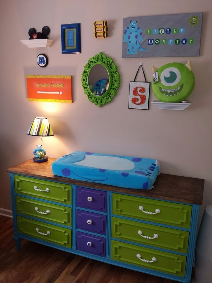 Best Monster Inc Theme Bedroom Monsters Inc Room Alex S With Pictures