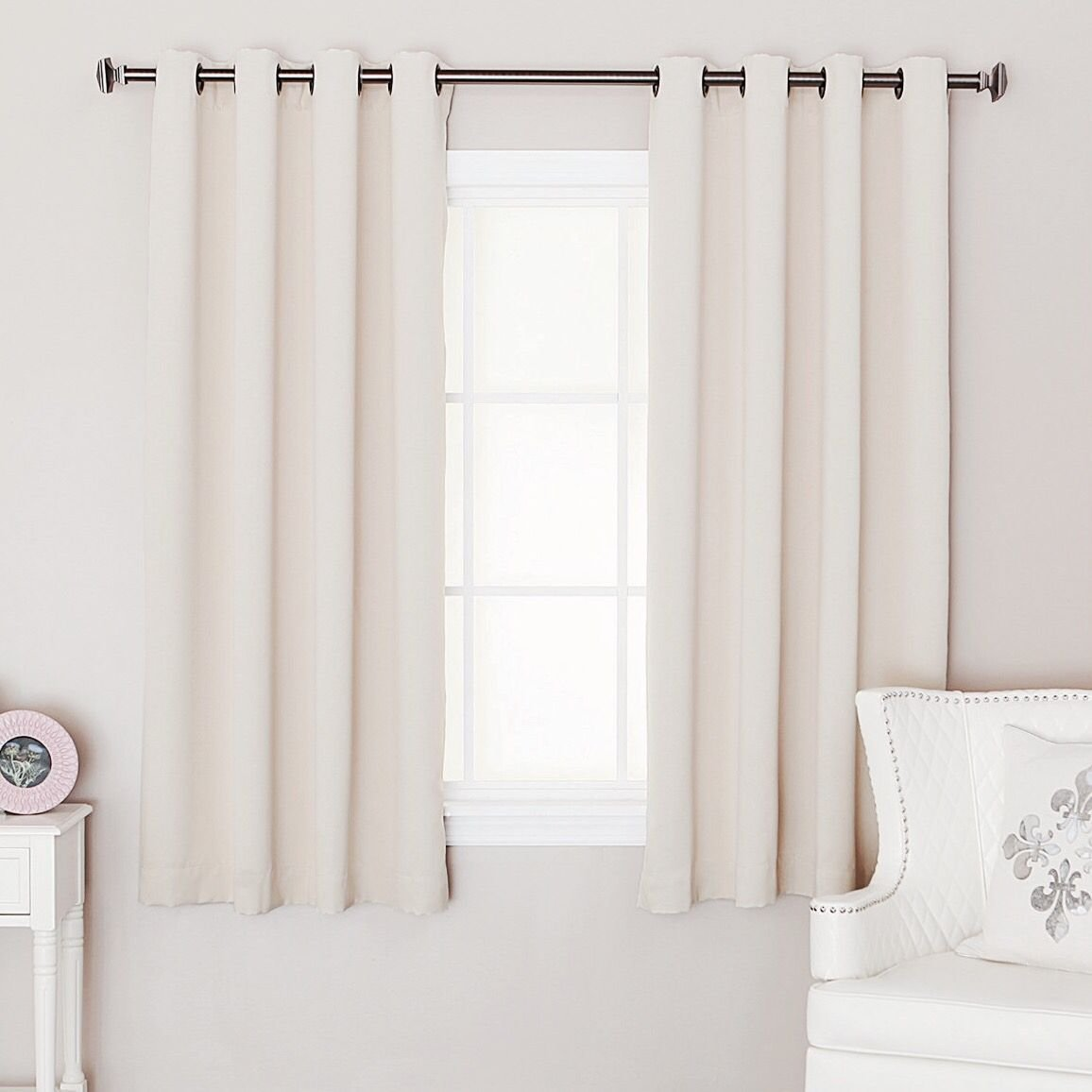 Best Short Curtains Square Bedroom Window Mid Century Modern Nursery Small Window Curtains With Pictures