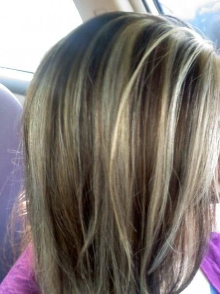 Free Brown Lowlights And Very Light Highlights I Want My Hair Wallpaper